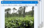 Исправление Windows Photo Viewer открывает несколько окон при выборе нескольких файлов в Windows 10