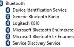 K810 Bluetooth клавиатура с подсветкой, отключение