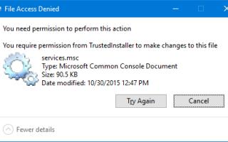 Как запускать программы как TrustedInstaller для записи в определенные ключи или файлы реестра