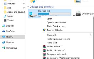 Windows 10 Ошибка установки 0x80070070 |