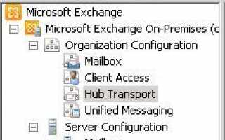Добавление провайдера черного списка IP-адресов в Exchange 2010. Как заблокировать спам в Exchange 2010
