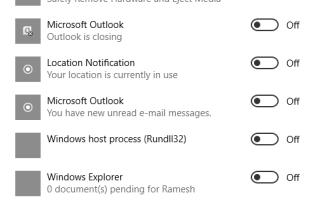 Как очистить значки настройки уведомлений (в системном трее) в Windows?