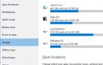 Диски, отсутствующие в настройках хранилища и в местах сохранения приложений, раскрывающийся в Windows 10 [Fix]