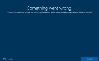 Что-то пошло не так, пользователь не авторизован для регистрации |