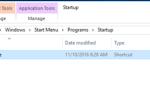 Как добавить программу при запуске Windows 10.