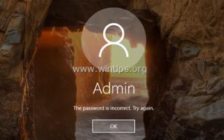 Как сбросить пароль в Windows 10/8/7 / Vista, если вы забудете его!