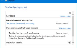 Исправлено: клавиатура не работает в Edge, Cortana, меню Пуск и экран блокировки