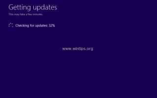 Как восстановить Windows 10 с обновлением на месте.