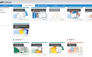 Решение для архивации почты — GFI MailArchiver Review