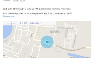 Как отследить местоположение вашего компьютера с Windows 10 или мобильного телефона с помощью функции «Найти мое устройство»?