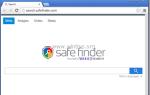 Удалить Safe Finder — search.safefinder.com — угонщик браузера (Руководство по удалению)