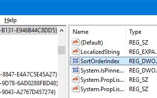 Как переместить библиотеки над этим компьютером в Windows 10?