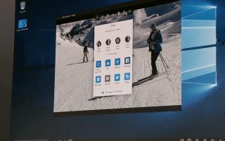 Новый пользовательский интерфейс Share в Windows 10 — как его включить?