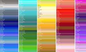 Используйте палитру цветов HTML, чтобы найти свой код цвета HTML