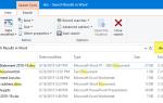 Как искать файлы с определенным расширением в Windows?