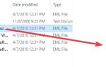 Как включить предварительный просмотр файлов .eml (сообщение электронной почты) в проводнике