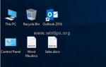 Как исправить: DOCX-файлы не отображают значок Word в Проводнике. (Раскрыты)