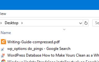 Показать полный путь в адресной строке для специальных папок в Windows 10