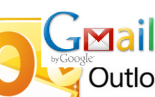 Как настроить Gmail в Outlook.