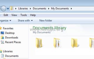 Как исправить отсутствующие имена файлов и папок в проводнике Windows.