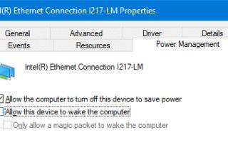 Знайте, какие устройства могут разбудить ваш компьютер из спящего режима