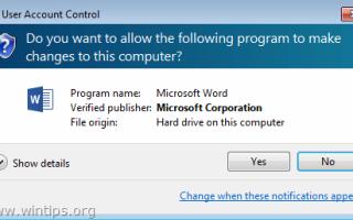 ИСПРАВЛЕНИЕ: Вы хотите разрешить следующей программе вносить изменения в этот компьютер? в Word 2013 или Excel 2013 (решено)