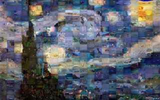 Создать мозаику из любого изображения