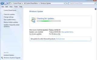 Как исправить проблемы Центра обновления Windows в Windows 7/8 / 8.1 и Server 2008/2012.