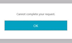 Не удается выполнить ваш запрос — Citrix Storefront
