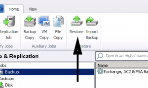 Veeam 7 Восстановление почтовых элементов Exchange |