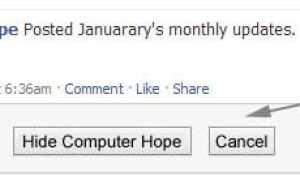 Топ 10 советов Facebook