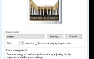 Установка заставки «Фотографии» в качестве заставки для входа в Windows Vista и Windows 7