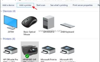 Как развернуть сетевой принтер с помощью групповой политики в Server 2016.