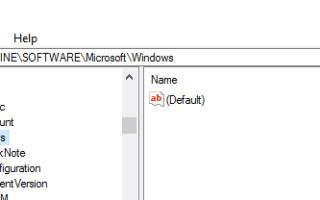 Получить старый редактор реестра в Windows 10 Creators Update