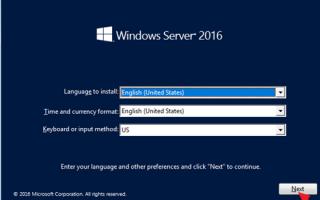 Как восстановить Server 2016 из резервной копии образа системы, если Windows не загружается в обычном режиме. (Автономный метод)