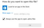 Как изменить или восстановить стандартные ассоциации файлов в Windows
