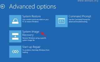 Как восстановить резервную копию образа системы в ОС Windows 10, 8 или 7.