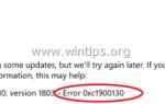 ИСПРАВЛЕНИЕ: Ошибка 0xc1900130 или 0x80240034 в Windows 10 Update