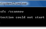 [Исправлено] Ошибка SFC Windows Resource Protection не может запустить службу восстановления