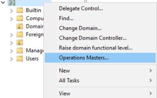 Как перенести роли FSMO на Windows 2016 Server