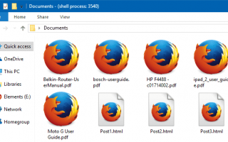 Установите пользовательский значок для файлов PDF с Chrome или Firefox в качестве средства просмотра PDF по умолчанию