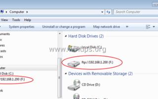 Подключить FTP к букве локального диска в Windows (How-to)