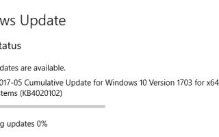 Накопительное обновление KB4020102 (15063.332) для Windows 10 версии 1703 — прямая загрузка