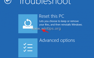 Как восстановить Windows 10 ПК обратно в исходное состояние.
