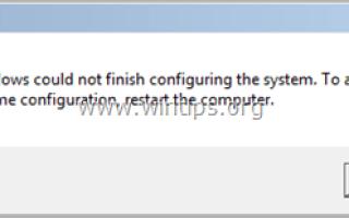 Как исправить Windows не удалось завершить настройку системной ошибки после запуска Sysprep.