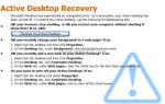 Как исправить проблему Active Desktop Recovery (Восстановить мой Active Desktop) в Windows XP.
