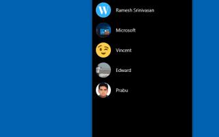 Как закрепить более трех контактов на панели людей в Windows 10
