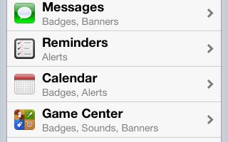 Скрыть SMS с экрана блокировки на IOS6.iPhone 4s, 5 и iPad