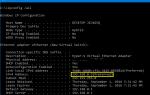 Различные способы найти свой IP-адрес в Windows