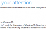 Этот ПК не может быть обновлен до Windows 10
